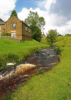 Hutton Beck 2 Art Print by John Topman
