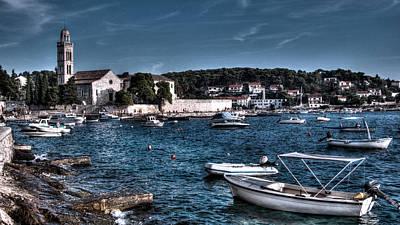 Photograph - Hvar Coast Dalmatia by Weston Westmoreland