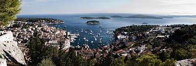 Photograph - Hvar Harbor From The Fortress by Weston Westmoreland
