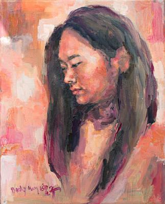 Bsk Painting - Hwajin by Becky Kim
