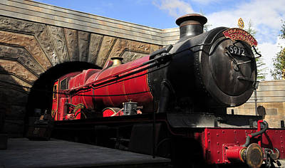 Hogwarts Express Train Work A Art Print by David Lee Thompson