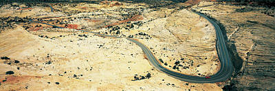 No. 12 Photograph - Hwy 12 Near Escalante Ut Usa by Panoramic Images