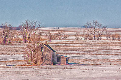 Photograph - Hwy 83 North Dakota by Christy Patino