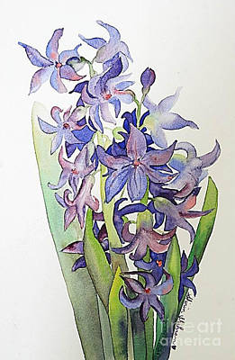 Hyacinthus Art Print