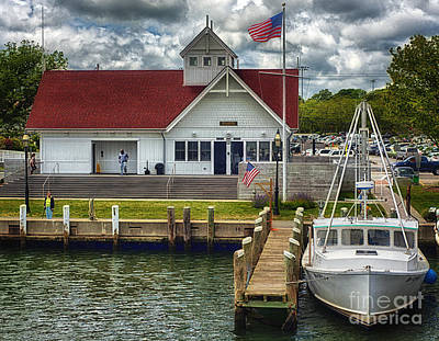 D700 Photograph - Hyannis Coastguard Hdr01 by Jack Torcello