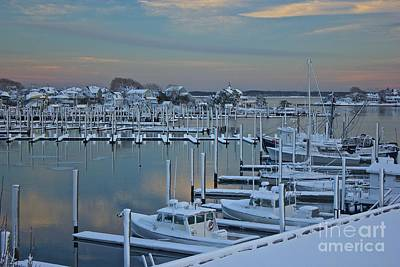 Photograph - Hyannis Harbor After The Blizzard  by Amazing Jules
