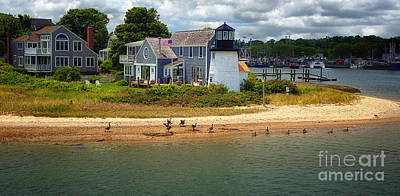 Hyannis Light Migrating Geese Original by Jack Torcello
