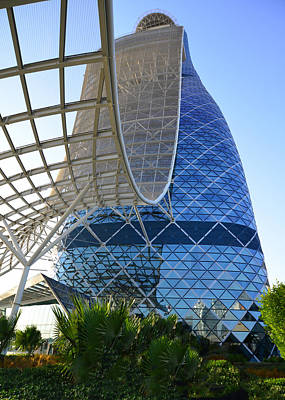 Photograph - Hyatt Capital Gate 2 by Dragan Kudjerski