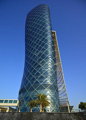 Photograph - Hyatt Capital Gate 3 by Dragan Kudjerski