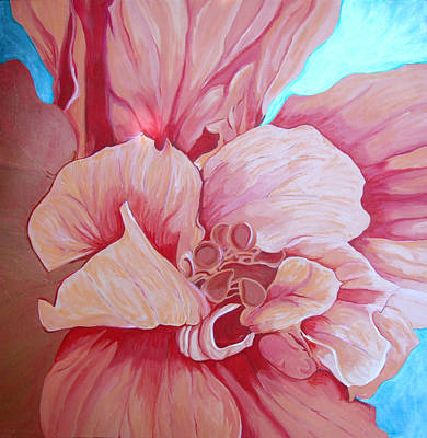 Hybiscus Art Print