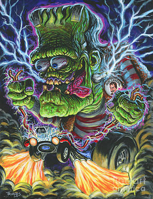 Painting - Hybrid Fink by Mark Tavares
