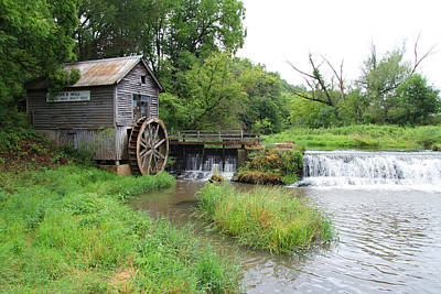 Hyde Mill Art Print by John Kunze