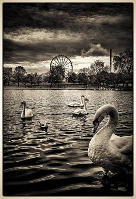 Photograph - Hyde Park Winter Wonderland by Lenny Carter