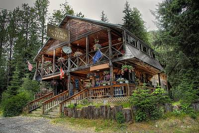 Photograph - Hyder Alaska General Store by Dyle   Warren