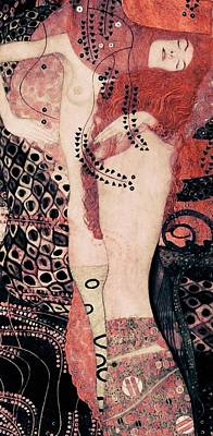 Painting - Hydra by Gustav Klimt