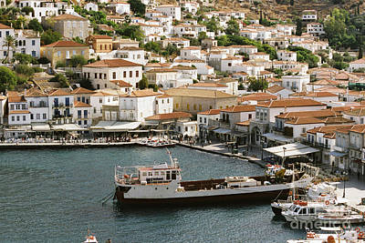 Photograph - Hydra Island by Paul Cowan