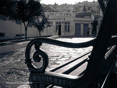 Hydra Street Photograph - Hydra Street by Alexandros Daskalakis