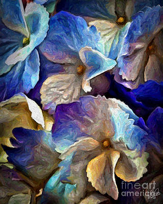 Painting - Hydrangea 3844 by Walt Foegelle