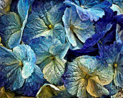Painting - Hydrangea 3848 by Walt Foegelle