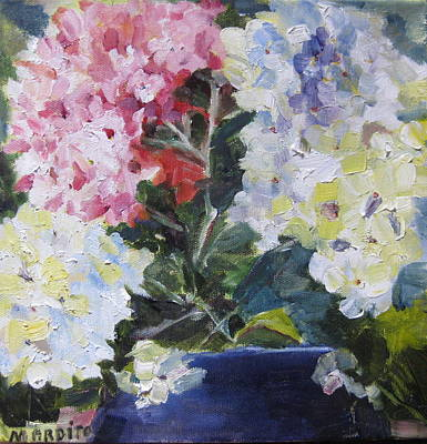 Painting - Hydrangea Blue by MaryAnne Ardito