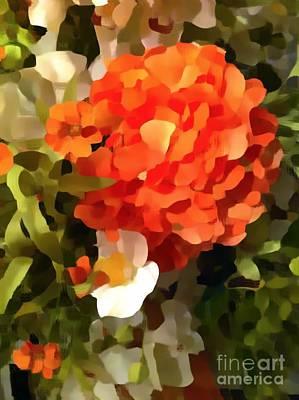 Photograph - Hydrangea Coral Impression by Saundra Myles