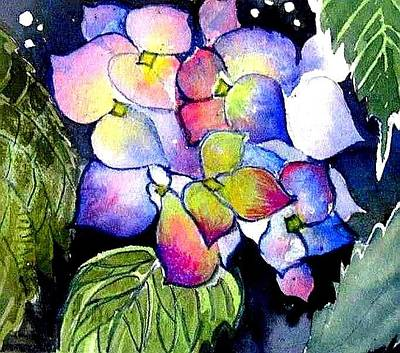 Painting - Hydrangea by Esther Woods