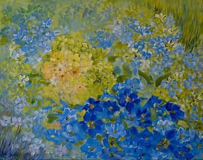 Painting - Hydrangeas by Joanne Smoley