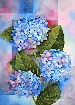 Painting - Hydrangeas by Melanie Pruitt