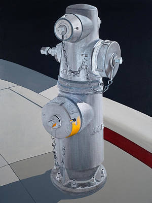 Painting - Hydrant 90210 by Jennifer Walker