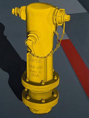 Painting - Hydrant 90232 by Jennifer Walker