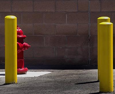 Hydrant Art Print by Kevin Duke
