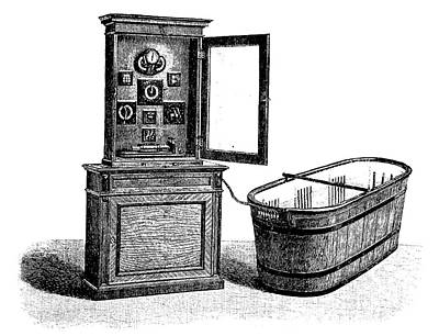 Hydroelectric Bathroom Cabinet Art Print by Bildagentur-online/tschanz