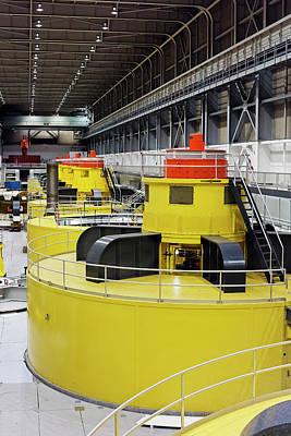 Hydroelectric Turbines Art Print