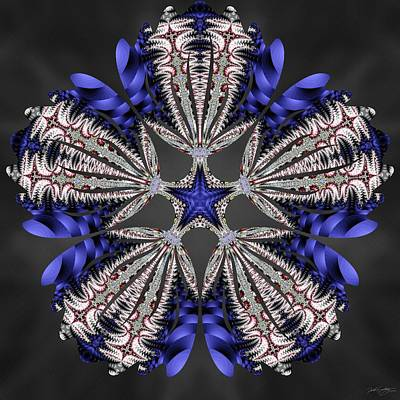 Digital Art - Hydrofractal by Derek Gedney