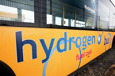 Progressive Photograph - Hydrogen Bus by Ashley Cooper