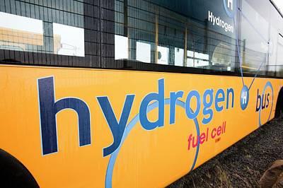 Hydrogen Bus Art Print