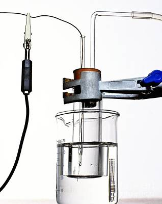 Hydrogen Electrode Apparatus Art Print by Martyn F. Chillmaid