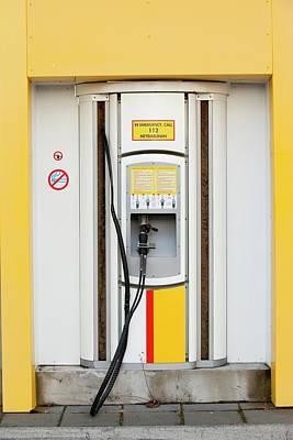 Hydrogen Filling Station Art Print