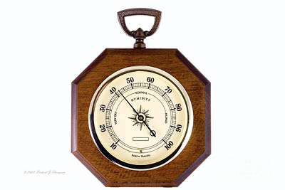 Photograph - Hygrometer by Richard J Thompson