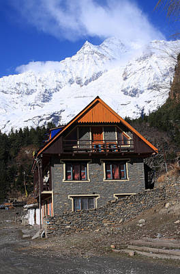 Kali Photograph - Hymalayan Mountain Village - Nepal by Aidan Moran