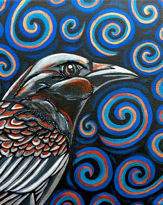 Photograph - Hyper Raven by Sarah Crumpler