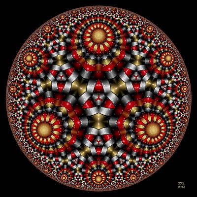 Digital Art - Hyperbolic Dreams by Manny Lorenzo