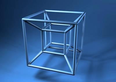 Hypercube Art Print by Equinox Graphics
