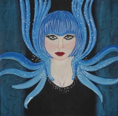 Hypnotic Art Print by Tammy Rekito