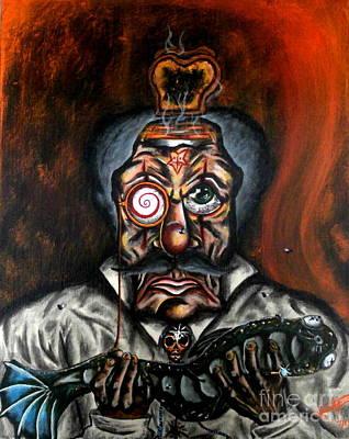 Toaster Painting - Hypnotoast by Kris Hallford