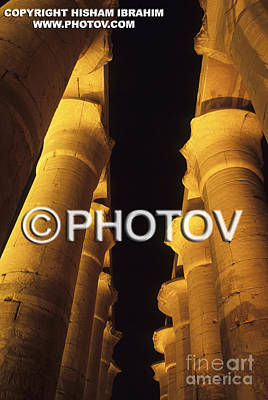 Hypostyle Hall - Temple Of Luxor - Luxor - Egypt Art Print