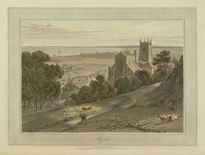 Hythe Coastal Landscape Art Print by British Library