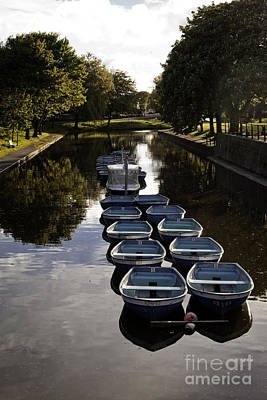 Photograph - Hythe Military Canal Kent by Lesley Rigg