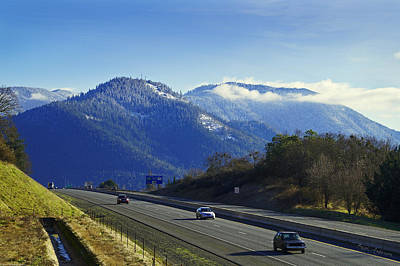 Photograph - I-5 At Grants Pass In Winter by Mick Anderson