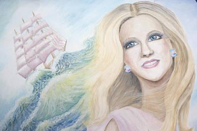I Am A Part Of Ocean Art Print by Victoria Volosnik